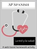 La red y la salud - A web based activity