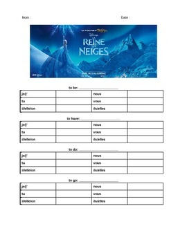 La reine des neiges (Frozen in French)