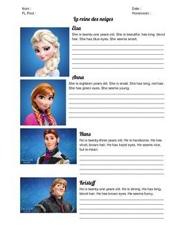 La reine des neiges : Avoir Packet