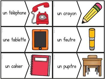 La rentrée scolaire - 49 puzzles - French back to school
