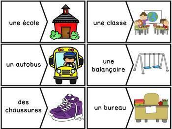 La rentrée scolaire - Ensemble complet - French Back to school Bundle