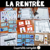 La rentrée scolaire - Ensemble complet - French Back to school Bundle