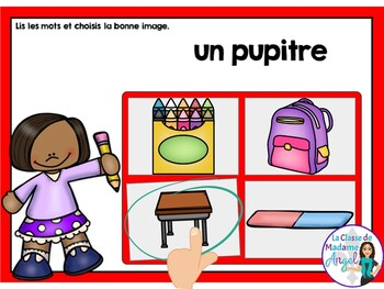 La rentrée: Back to School Themed Digital Task Cards in French - BOOM CARDS