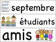La rentrée/Back to school Ontario Core French/French Immersion Write the Room