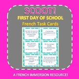 La rentrée: First Day of School SCOOT