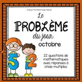 La résolution de problèmes en mathématique : Octobre