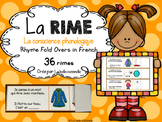 La rime - la conscience phonologique (Rhyme Fold Overs in French)