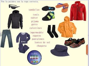 La ropa - Qué llevo 5