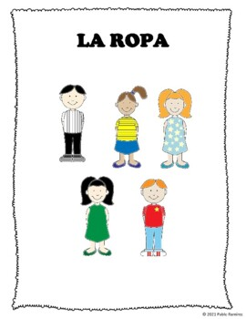 La ropa / Clothes in Spanish
