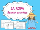 La ropa- Spanish Activities