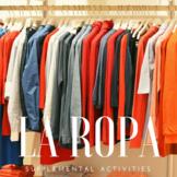 La ropa: Supplemental Activities