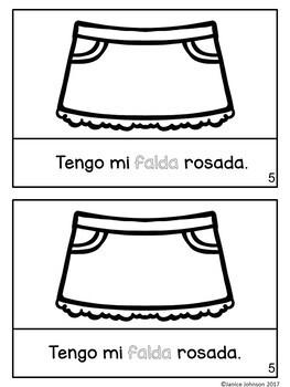 La ropa del verano ~ Spanish Summer Clothing Reader {libro en español}