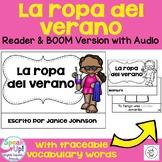 La ropa del verano ~ Spanish Summer Clothing Reader + BOOM™ Version w Audio