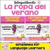 La ropa del verano ~ Summer Clothes Readers {Bilingual} + BOOM™ Version w Audio