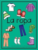 La ropa/Spanish Clothing Unit