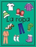 La ropa/Spanish Clothing Unit