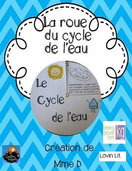La roue du cycle de l'eau
