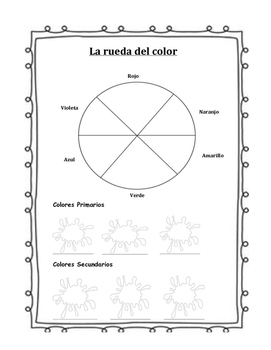 La rueda del color