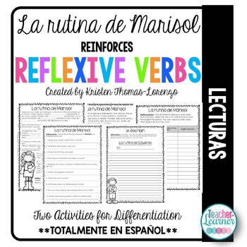 La rutina de Marisol - Reflexive Verbs