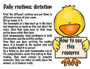 La rutina diaria - Reflexive verbs