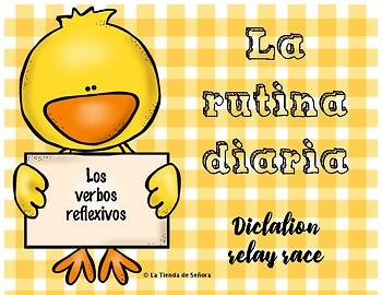 La rutina diaria - Reflexive verbs  FREE