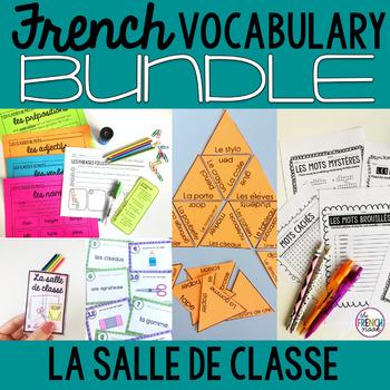 La salle de classe French classroom BUNDLE