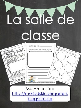 La salle de classe - Primary French Activities