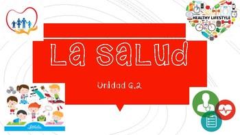 La salud - health body parts Spanish Avancemos 6.2