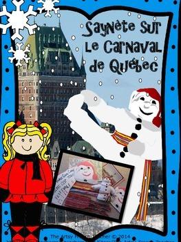 La saynète sur le Carnaval de Québec - French skit of Bonh