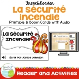 La sécurité incendie ~ Les pompiers Readers {fire safety} & Vocabulary Pack