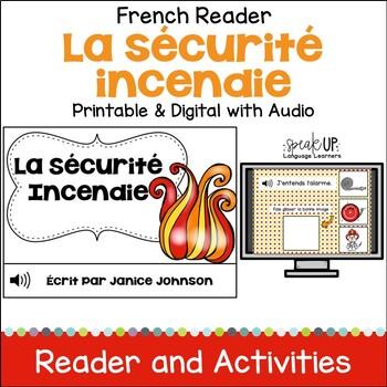 La sécurité incendie ~ Les pompiers Readers {fire safety} & Vocabulary Pack