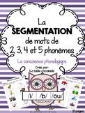 La segmentation de mots en phonèmes - la conscience phonologique (Elkonin boxes)