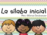 La sílaba inicial {Beginning Syllable Centers in Spanish}