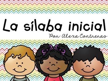 La sílaba inicial {Beginning Syllable Centers in Spanish}