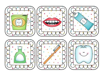La sonrisa perfecta {Dental Health Literacy and Math Centers in Spanish}