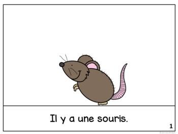 La souris et l'éléphant ~ French Mouse & the Elephant Fable Reader ~ Simplified