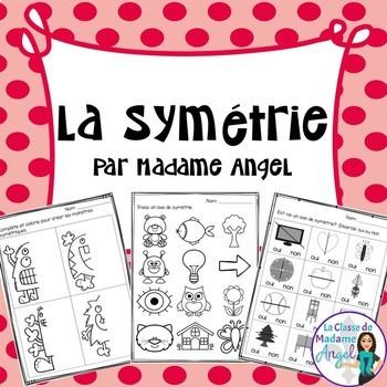 La symétrie:  French Symmetry Activities