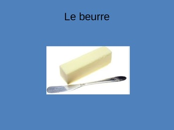 La table French Table Place setting dining vocabulary Power Point ppt