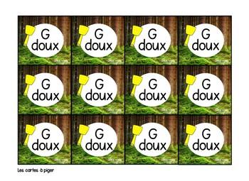 La tapette à mouches : G doux et G dur