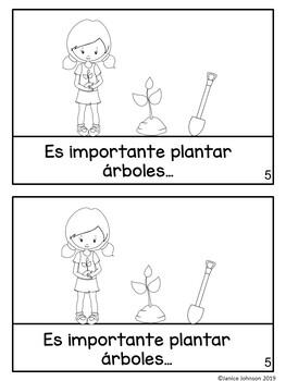 La tierra {Earth Day} Spanish Book & Original Song {en español}