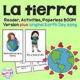 La tierra / Earth Day Spanish Reader, Original Song {español} + BOOM™ w Audio