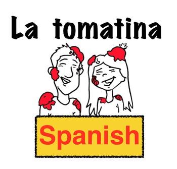 La tomatina: Spanish Storytelling Animated Video