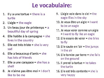 La tortue et l'aigle French Screenshot BookTalk Presentation