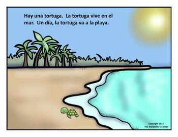 La tortuga - Spanish Story with Activities