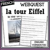La tour Eiffel – Eiffel Tower – Internet Activity