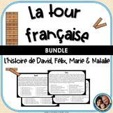 La tour française - A French Reading Comprehension Game -