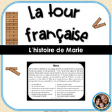 La tour française - French Reading Comprehension Game - Marie