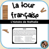 La tour française - French Reading Comprehension Game - Natalie (easy version)