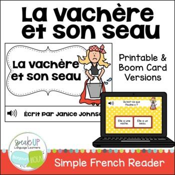 La vachère et son seau ~ French Milkmaid & her Pail Fable