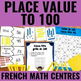 La valeur de position jusqu'à 100 - Place Value to 100 Centers French